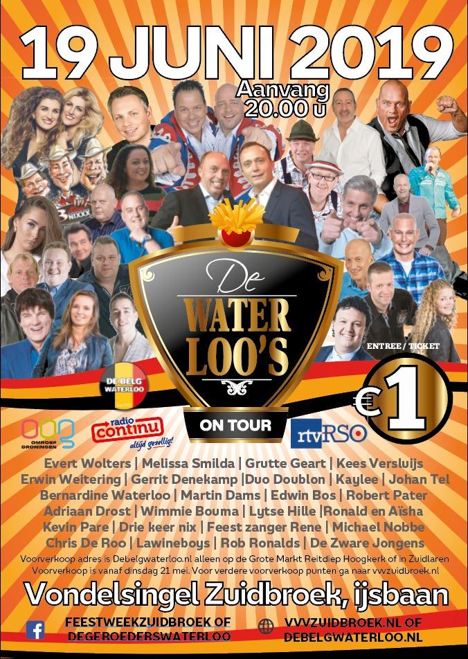 Waterloo Show woensdag 2019